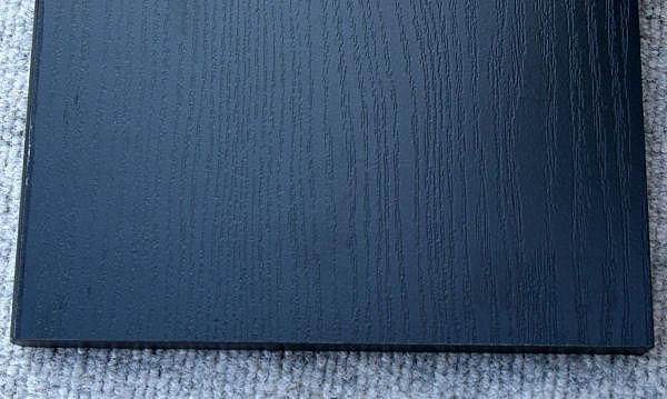 regalboden brett schwarz 19mm stark 50x25 cm borken. Black Bedroom Furniture Sets. Home Design Ideas