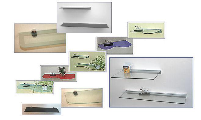 glasregale 8 mm. Black Bedroom Furniture Sets. Home Design Ideas