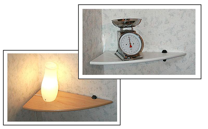 eckregal esche wei oder ahorn 60x30 cm clip m wandregal. Black Bedroom Furniture Sets. Home Design Ideas