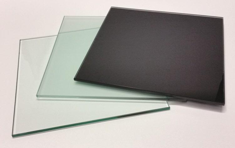 glasboden glasscheibe quadrat 30x30 cm 8 mm glas klar satiniert oder schwarz ebay. Black Bedroom Furniture Sets. Home Design Ideas