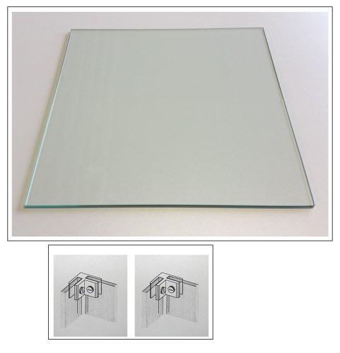 Glasboden glasscheibe 40x40 cm 6 mm f r glasw rfel system ohne haltesysteme ebay - Glasscheibe fur fenster ...
