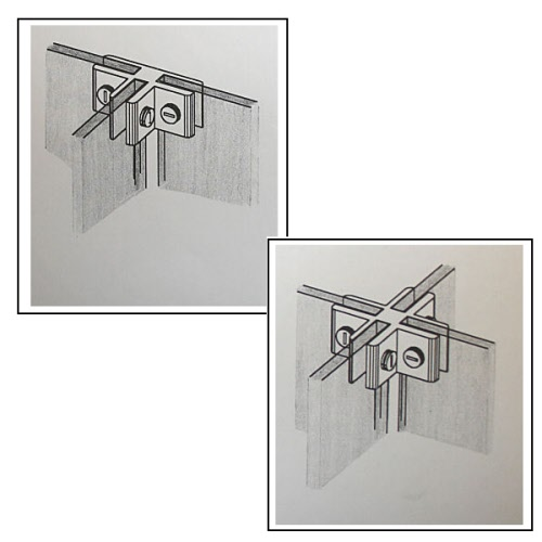 Quadro glasw rfelsystem 6 mm glas for Beistelltisch 40x40x40